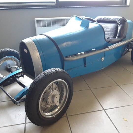 BUGATTI TYPE 59 - GRAND PRIX JUNIOR - ROLAND PERNOT - CIRCA 1990