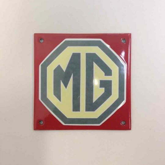 Plaque émaillée MG 10 x 10 cm