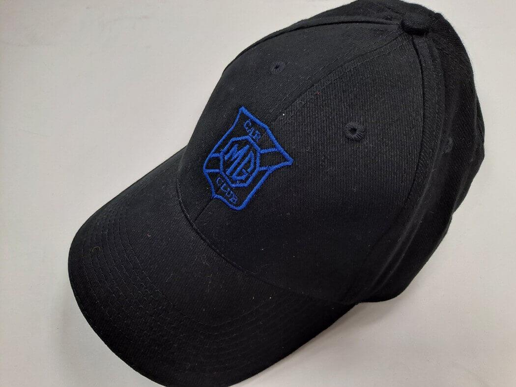 MG CLUB CAP - BLUE LOGO