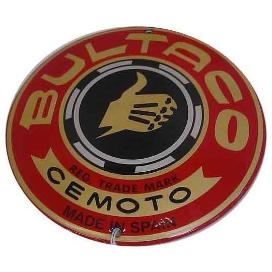 Plaque émaillée Butalco 13 cm