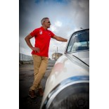 """POLO DRIVERS CLUB - """"917 023"""" - RED"""