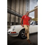 """POLO DRIVERS CLUB - \\""""917 023\\"""" - ROUGE"""