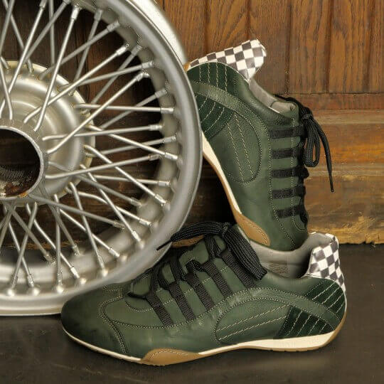 CHAUSSURES GRANDPRIX ORIGINALS BREXIT GREEN