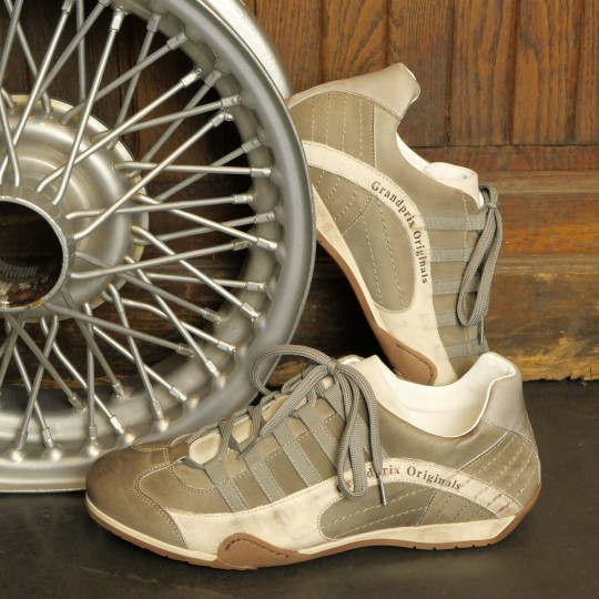 CHAUSSURES GRANDPRIX ORIGINALS IVORY ICE GRIS