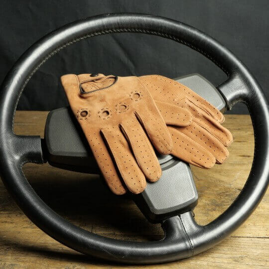 DRIVING GLOVES - LEATHER - EL MARON