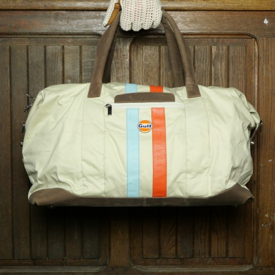 Sac Gulf Stripe Travelbag big Sand 18