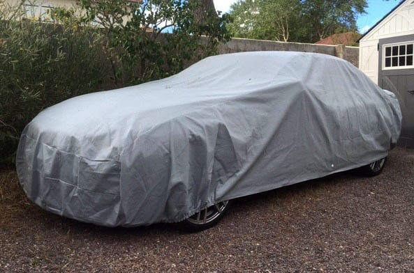 Outdoor Protective Cover Semi Size - Grey