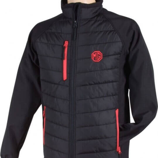VESTE MG SOFTSHELL-NOIR