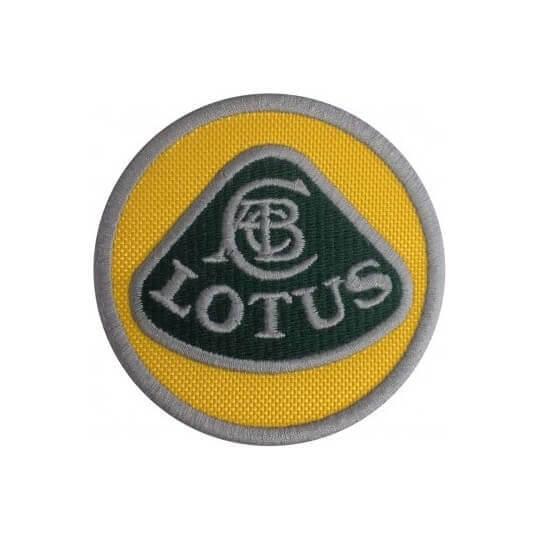 Ecusson Lotus 5x5 cm
