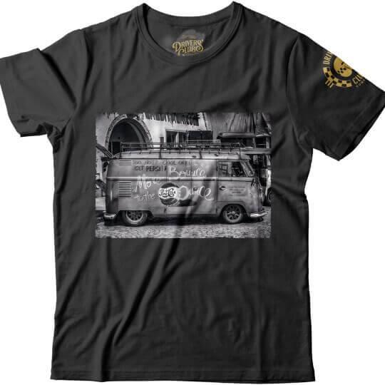 T-Shirt Drivers Club Combi VW Noir