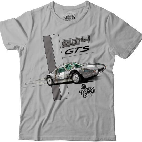 T-shirt Driver's Club Gris 904 GTS