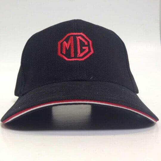 Casquette MG Noir Double