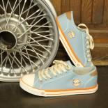 GULF Sky Blue Canvas Sneakers