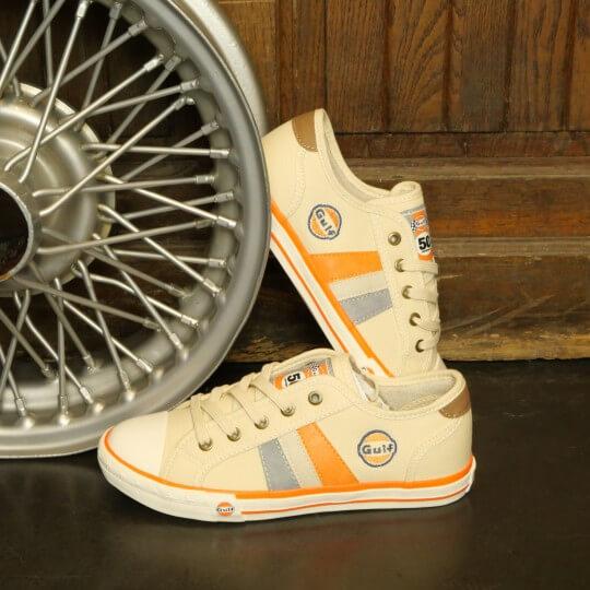 Chaussures Baskets Vintage beige GULF homme