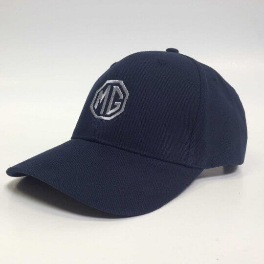 MG Brushed Heavy Cotton Navy Cap
