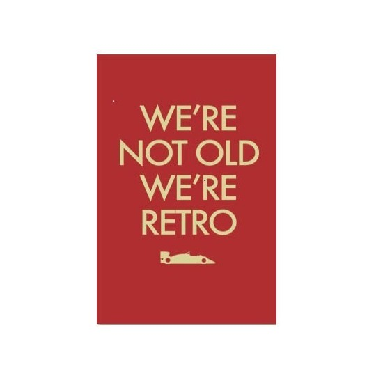 Poster We Are Retro