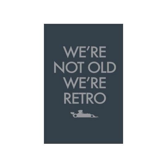 Poster We Are Retro