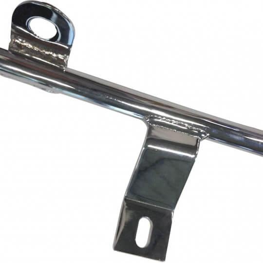 Barre chromée pour badges et phares d' Austin Healey 6 cylindres