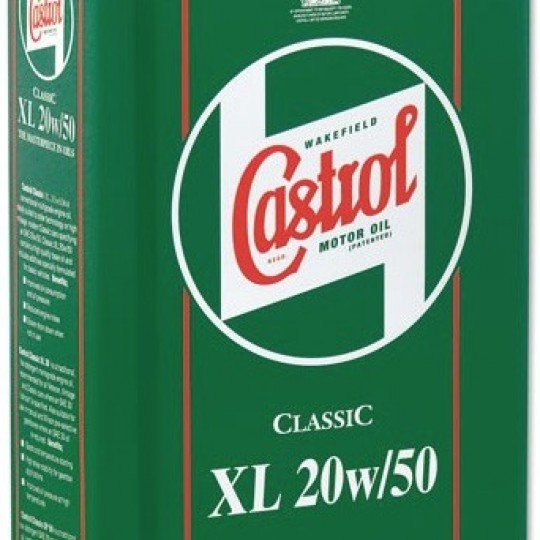 Huile Castrol Classic 20w50 5 litres