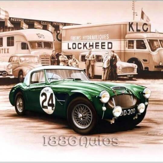 Austin Healey 3000 1962