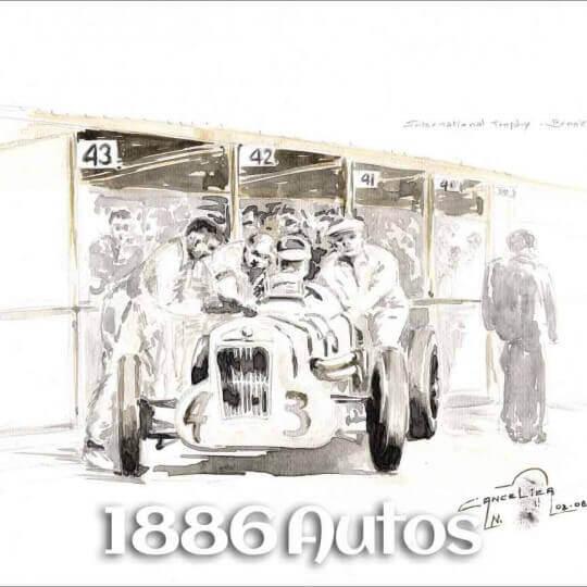 MG M, International Trophy Brooklands 1930