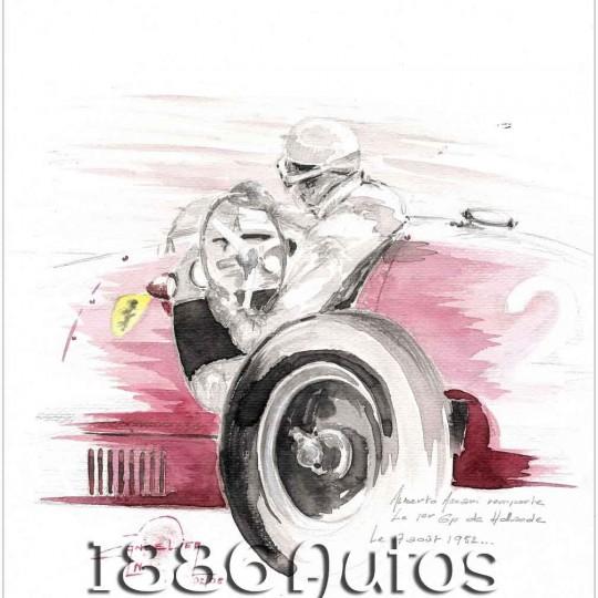 Ferrai F500, Alberto Ascari, Dutch GP 1952