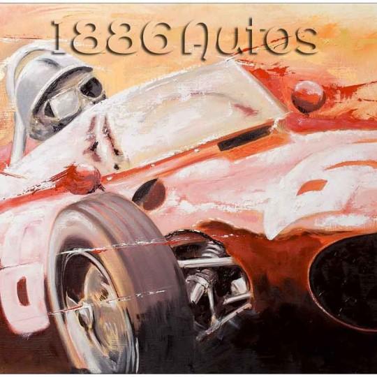 Ferrari 156 Dino, Willy Mairesse, Nürburgring 1961