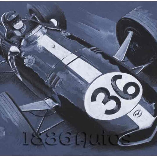 Eagle Weslake, Dan Gurney , Spa GP 1967
