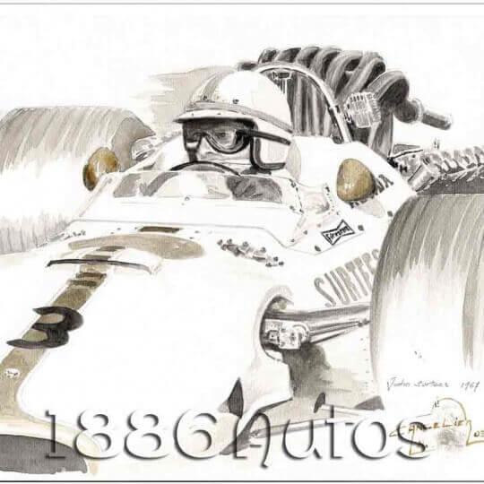 John Surtees, 1967 Mexico GP, Honda