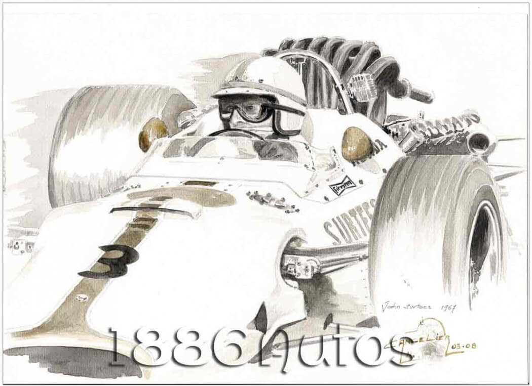 John Surtees, Mexico GP 1967, Honda