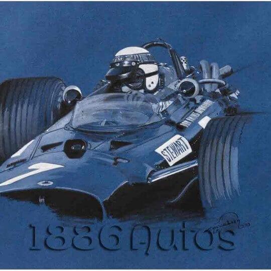 BRM P115, Sir Jackie Stewart OBE, Mexico GP 1967