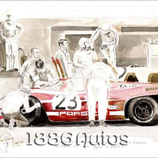 Porsche 917K, Le Mans 1970, Hans Herrmann/Richard Attwood, Le Mans 1970