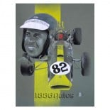 Tribute to Jim Clark and his winning Indy 500 Lotus 38