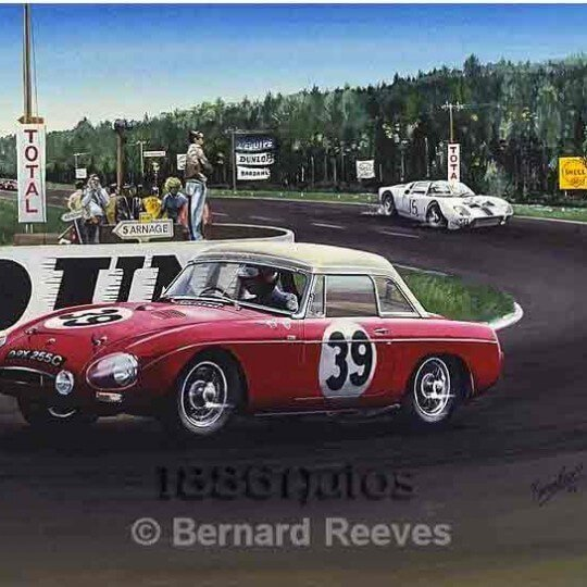 MGB at Le Mans