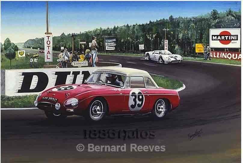 MGB at Le Mans