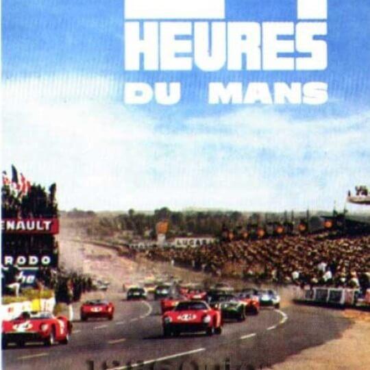 Affiche 24 heures du Mans 1965