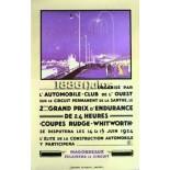 Affiche 24 heures du Mans 1924