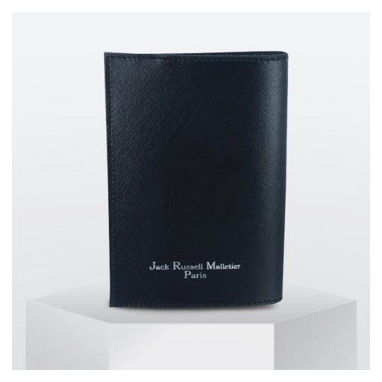 Protège Passeport Jack Russell Noir