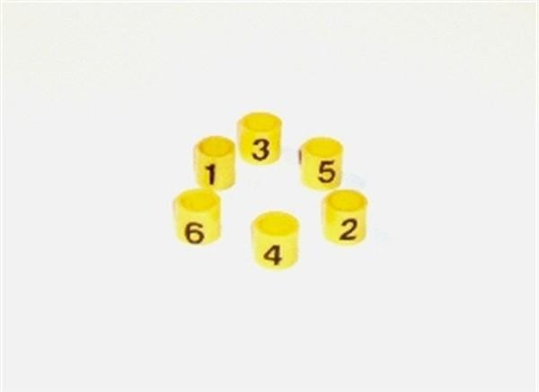 Bagues numérotées pour faisceau de bougies Austin Healey BN4-BJ8