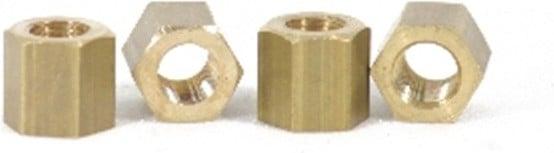 Brass manifold nut Austin Healey BN4-BJ8