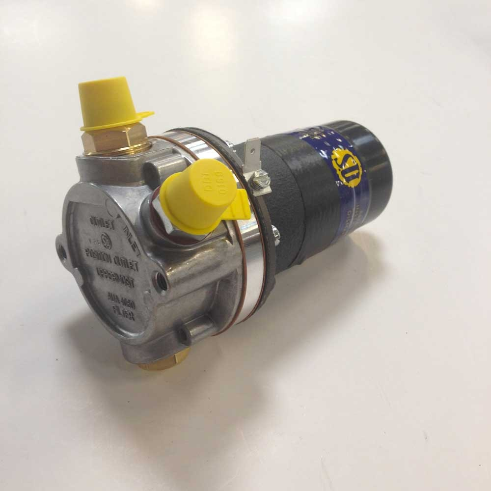 Pompe à essence duale polarité