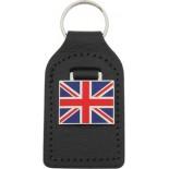 Porte clé cuir Union Jack