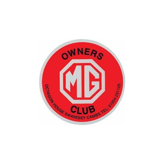 Autocollant CLUB MG