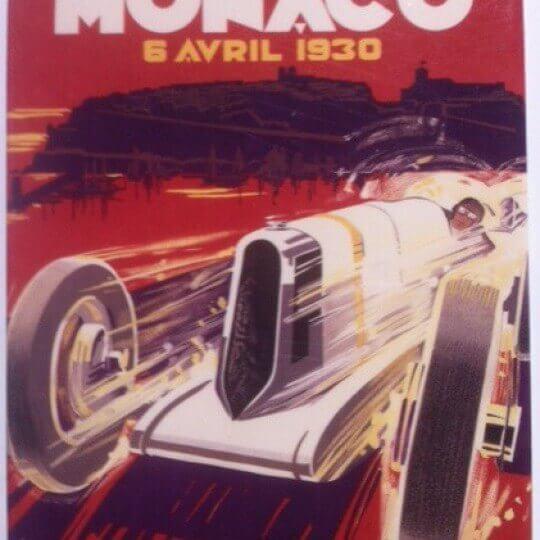 Magnet Monaco Grand Prix 1930 by Falcucci