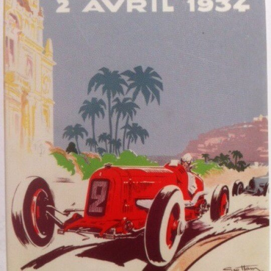 Magnet Grand Prix of Monaco 1934 by Géo Ham