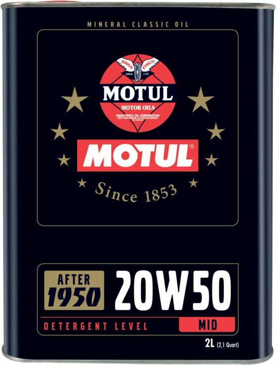 Huile moteur Motul Classic 20W50