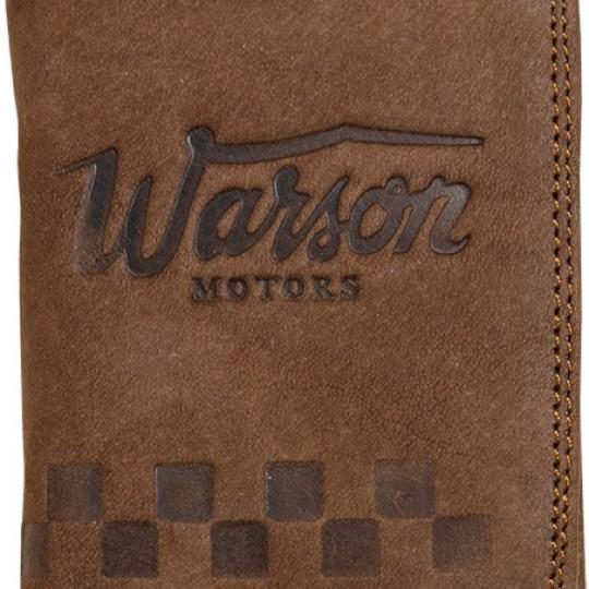 Porte monnaie mini brun cuir