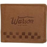 Porte monnaie brun clair horizontal