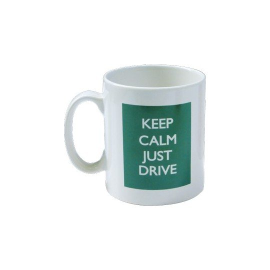 "Mug MG vert \""Keep Calm Just Drive\\"""