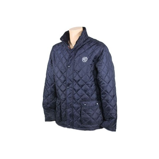 Blue MG jacket